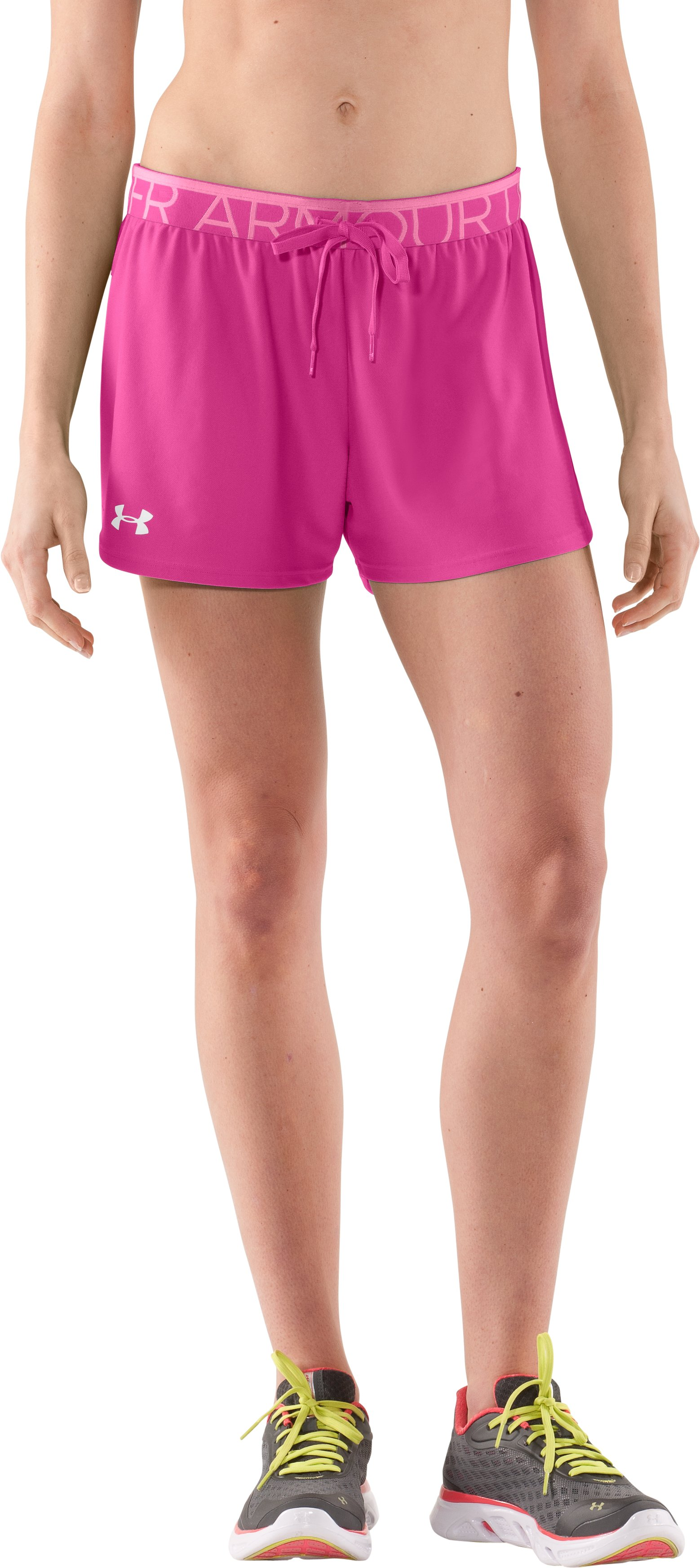 Women's UA Play Up Shorts, Playful, zoomed image