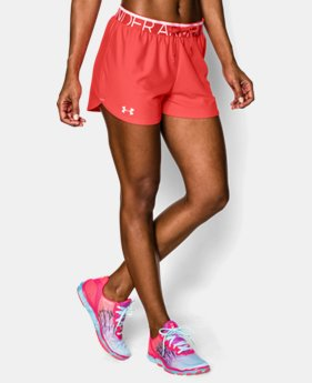 Women's UA Play Up Shorts LIMITED TIME: FREE U.S. SHIPPING 1 Color $18.99
