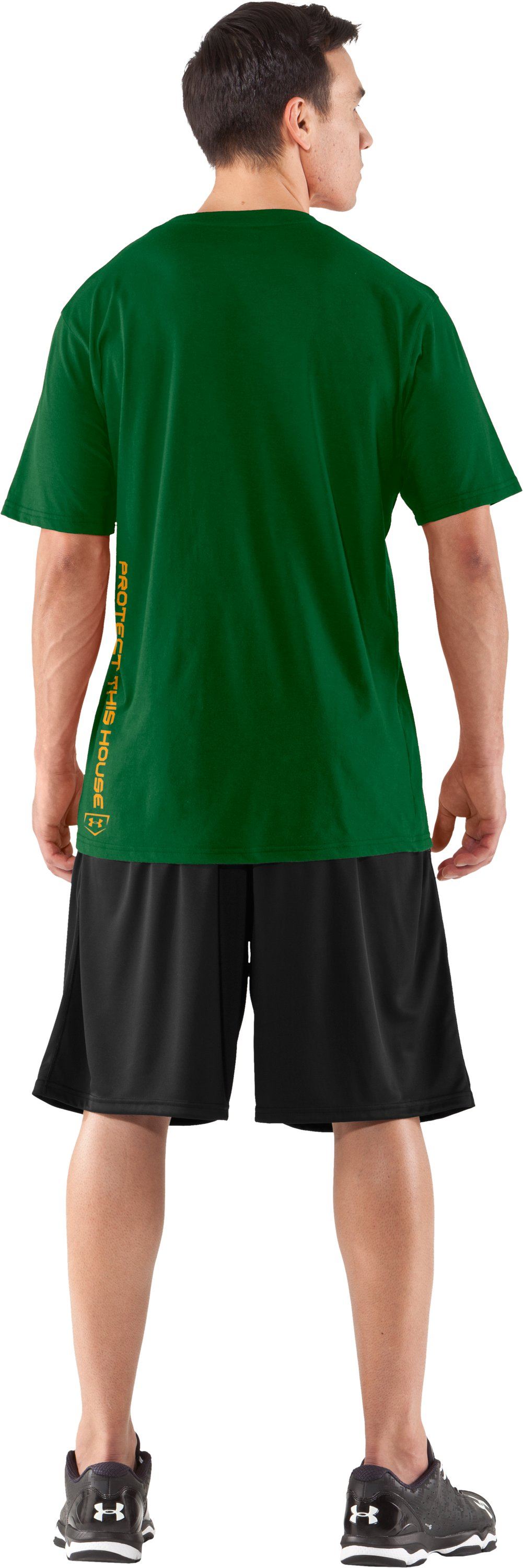Men's UA Dugout T-Shirt, Classic Green, Back