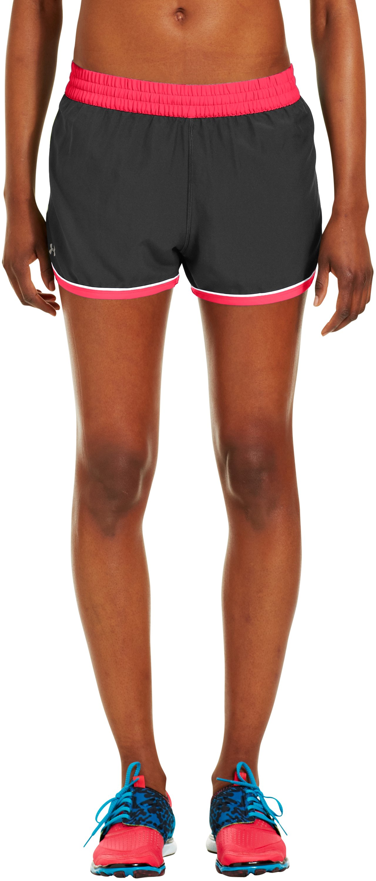 Women's UA Great Escape Shorts II, Black , zoomed image
