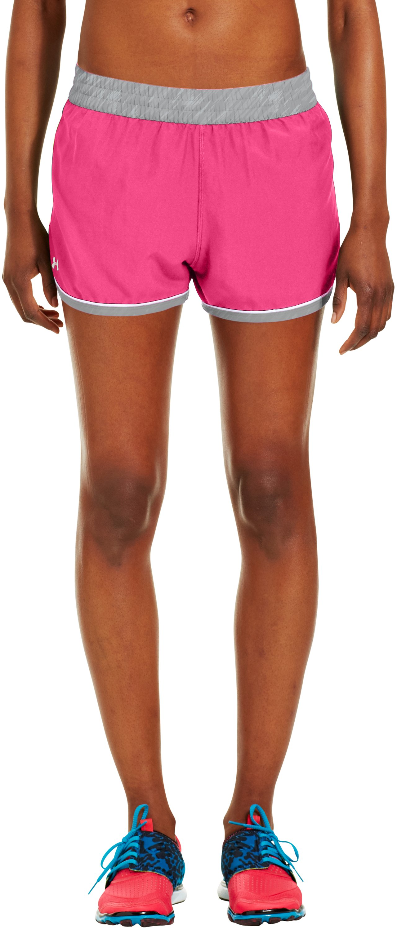 Women's UA Great Escape Shorts II, Cerise