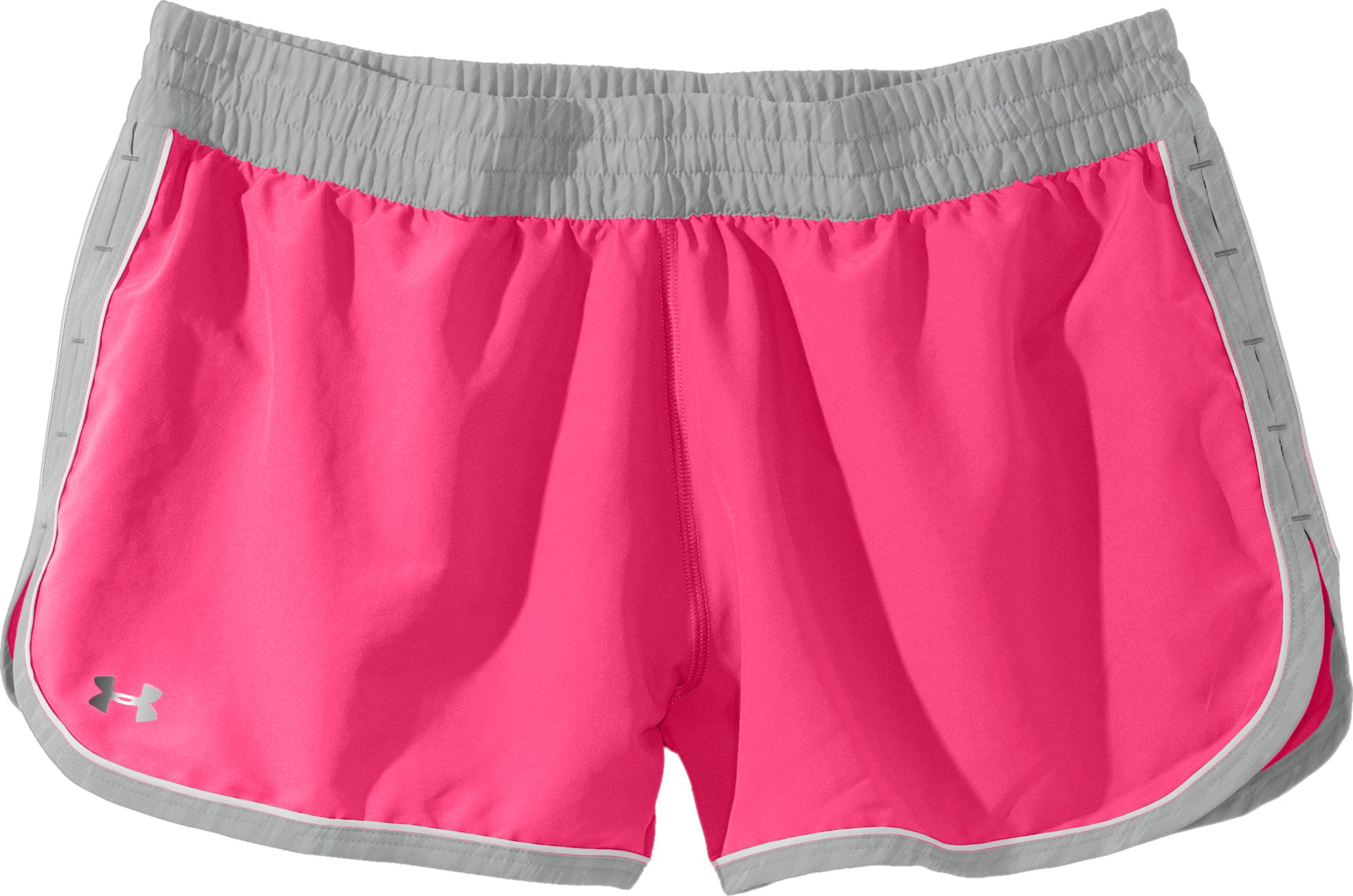 Women's UA Great Escape Shorts II, Cerise, Laydown