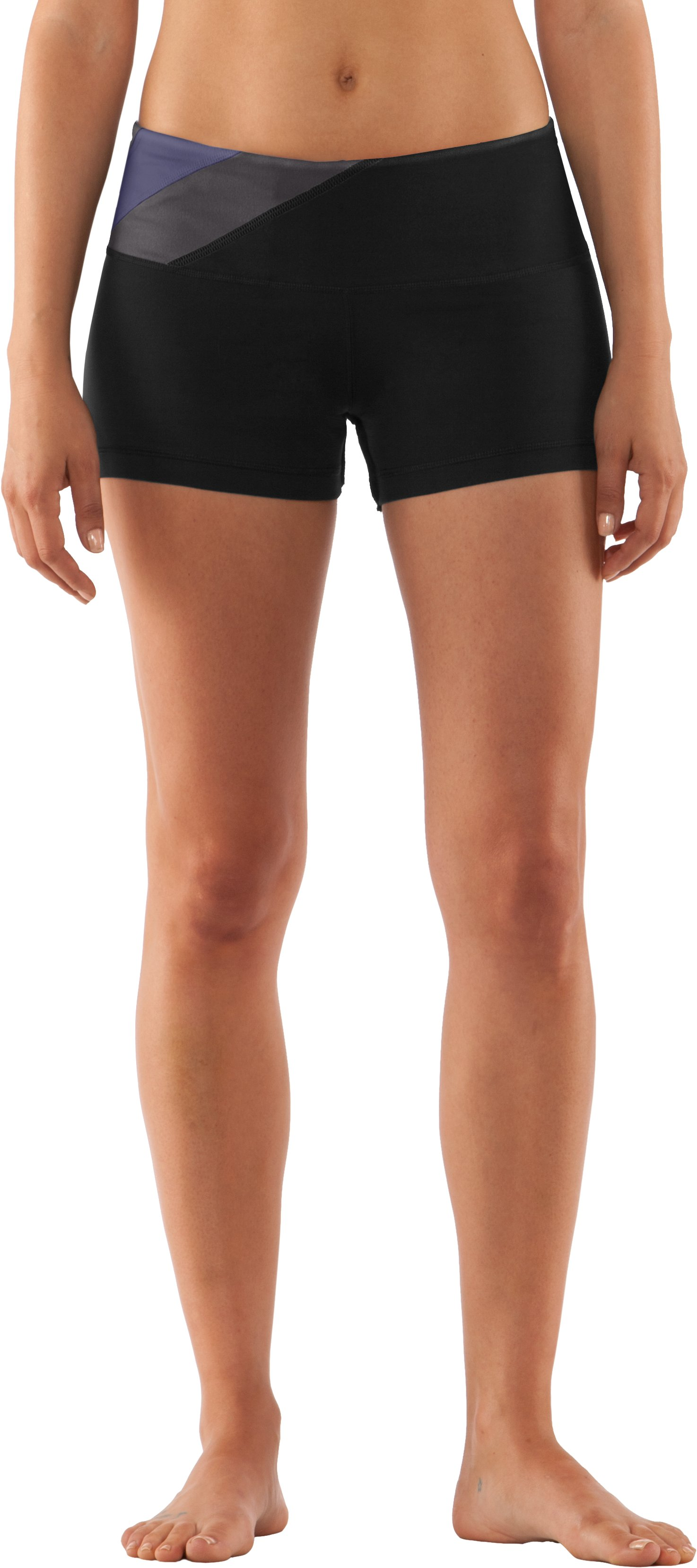 Women's UA Perfect Shape Shorty, Black , zoomed image