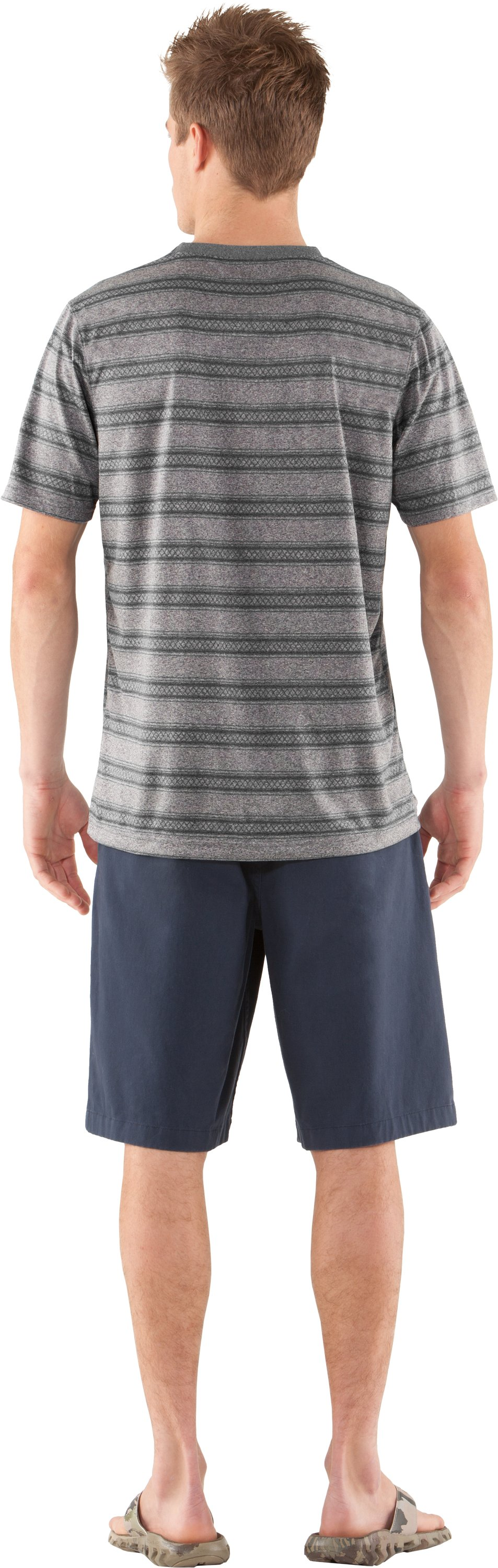 Men's UA Tech™ Push T-Shirt, BOULDER, Back