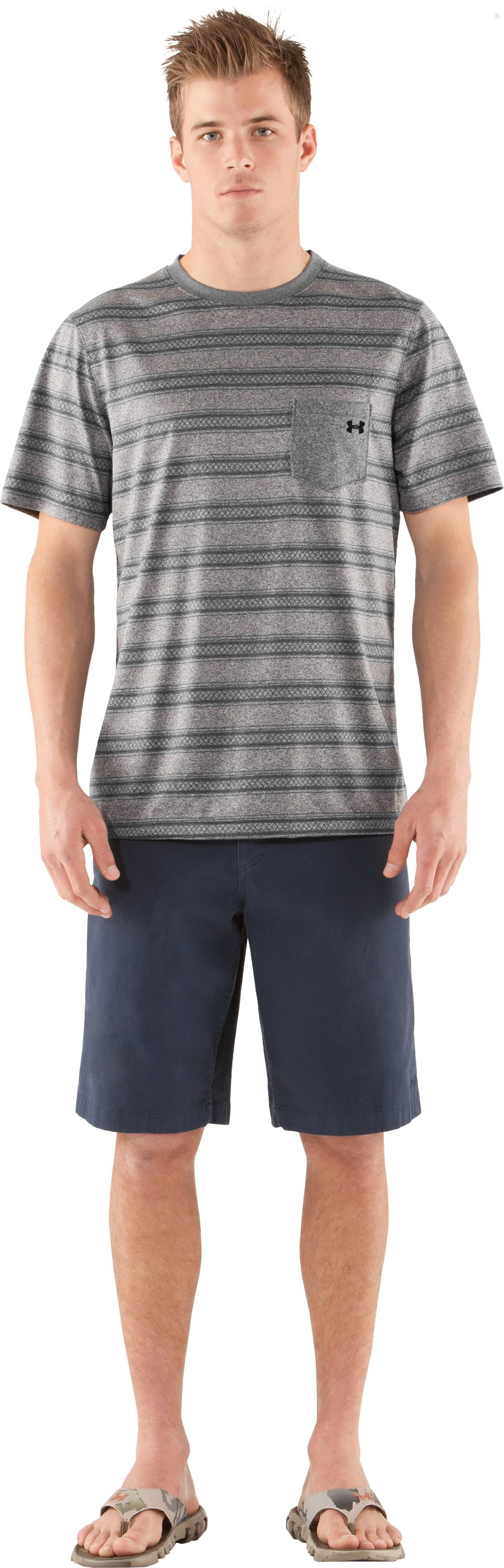 Men's UA Tech™ Push T-Shirt, BOULDER, Front
