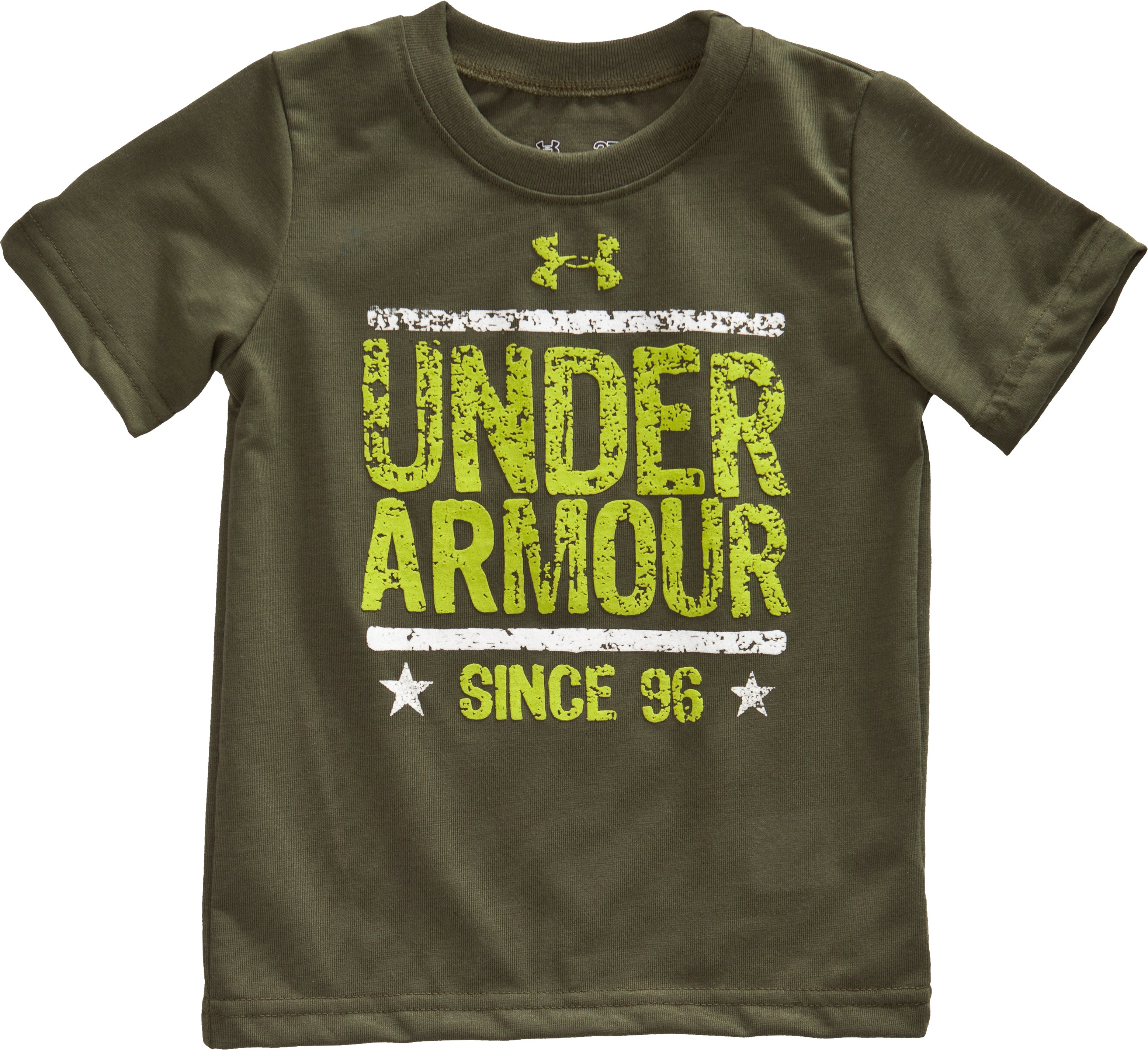 Boys' 4-7 UA Branded 96 T-Shirt, Root, zoomed image