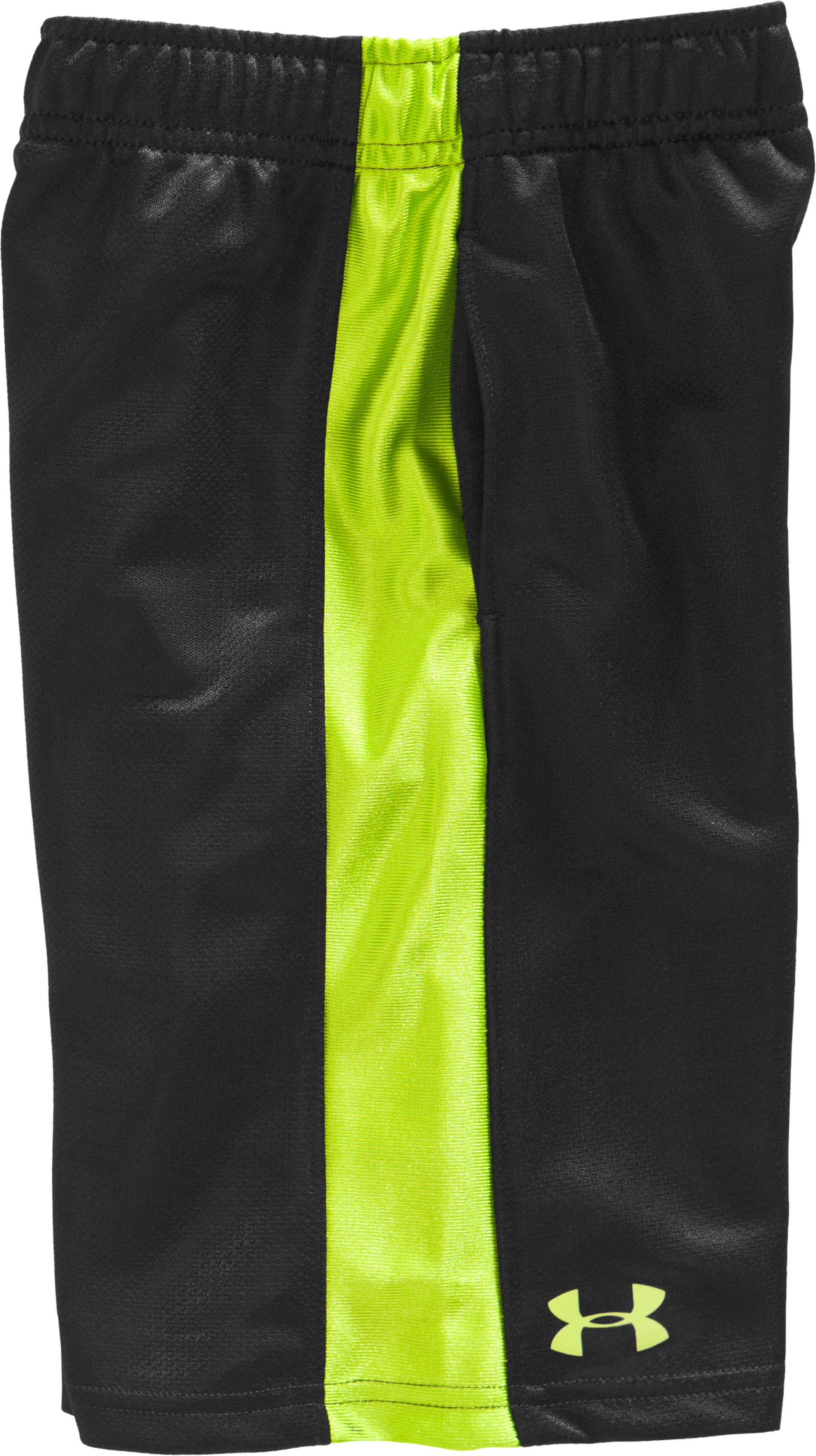 Boys' Infant UA Ultimate Shorts, Black , Laydown