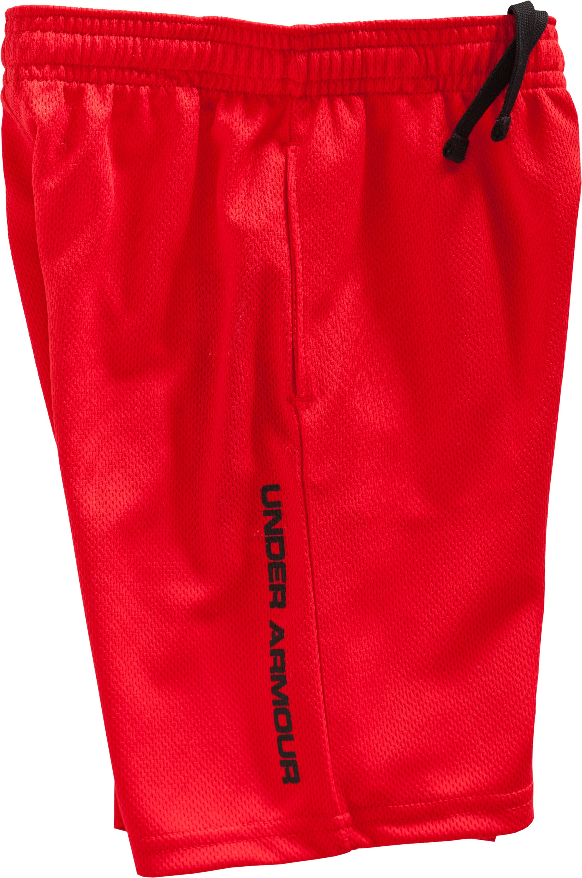 Boys' Infant UA Power Up Shorts, Red, Laydown