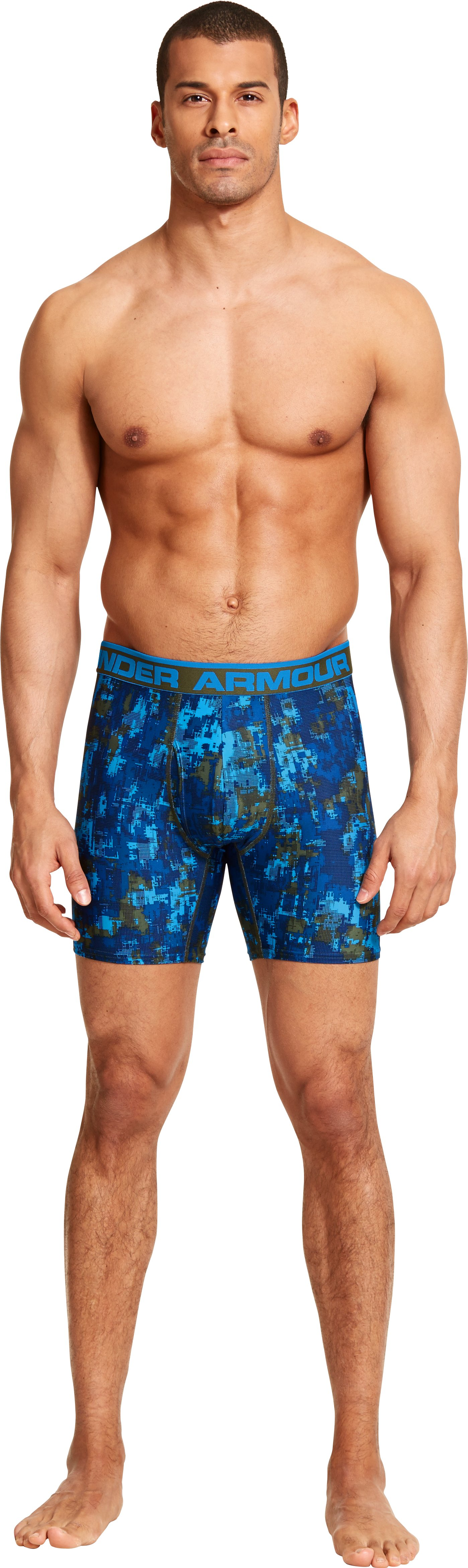 Men's UA Original Series Printed Boxerjock®, Rough, Front