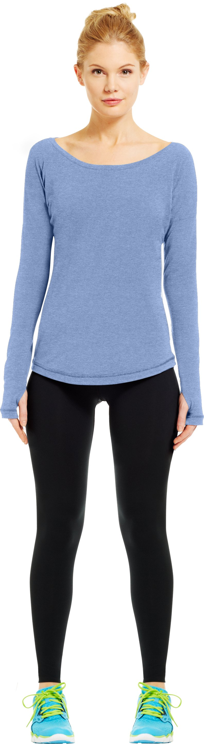 Women's UA Flow Long Sleeve, BLU-AWAY