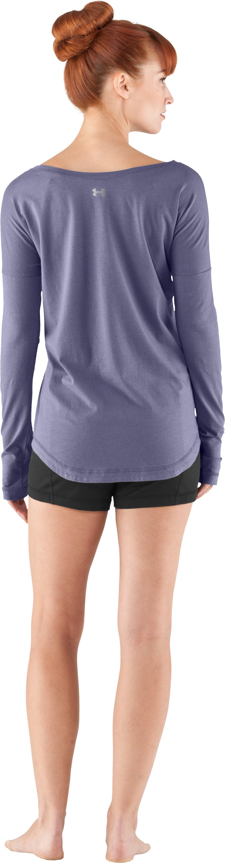 Women's UA Flow Long Sleeve, Starlight, Back