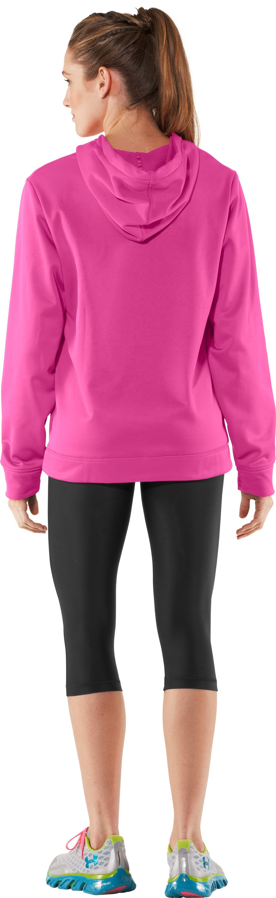Women's UA Edge Hoodie, Playful, Back