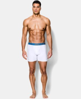 2-Pack Men's UA HeatGear® Performance Boxerjock® 2-Pack  1 Color $26.99