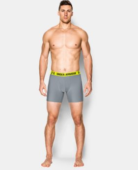 "2-Pack Men's UA HeatGear® Performance 6"" Boxerjock® 2-Pack  1 Color $20.99 to $24.99"