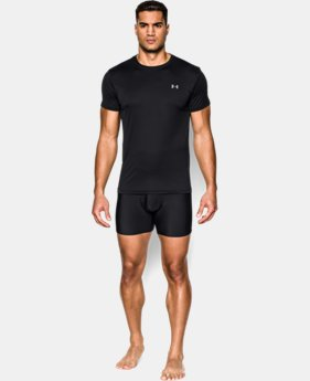 Men's UA HeatGear® Performance Crew Undershirt 2-Pack  1 Color $35