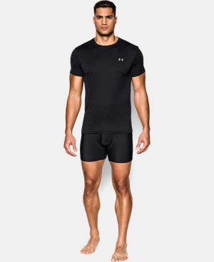 Men's UA HeatGear® Performance Crew Undershirt 2-Pack   $35