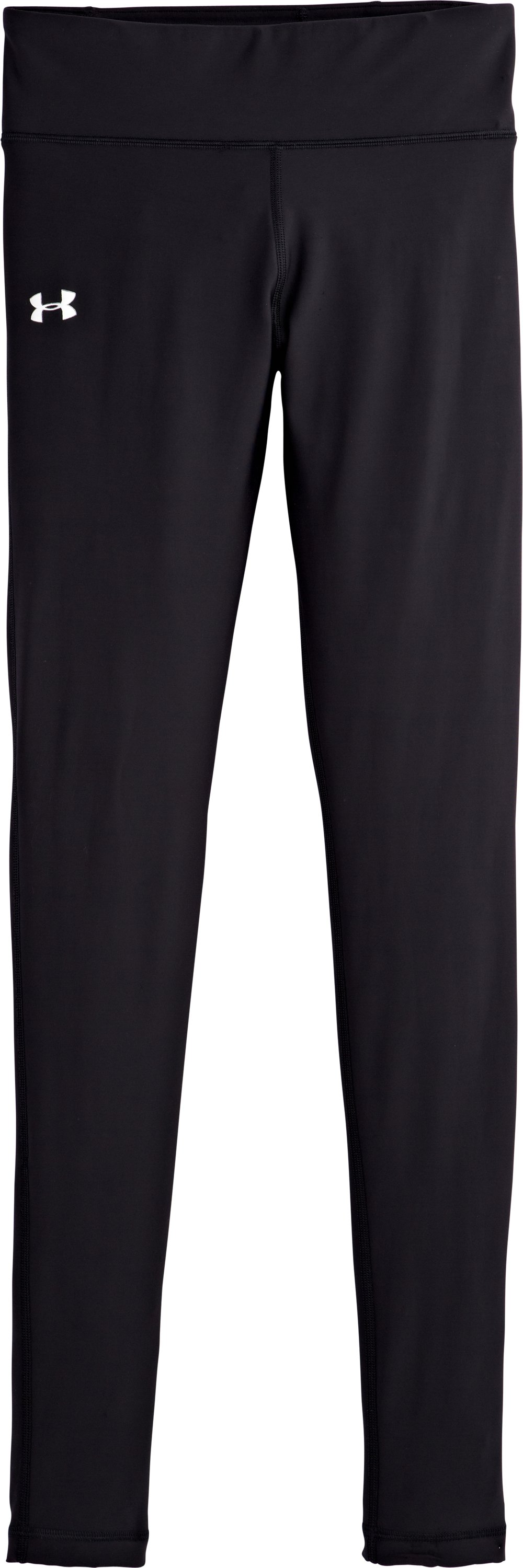 Women's UA Authentic HeatGear® Tights, Black , Laydown