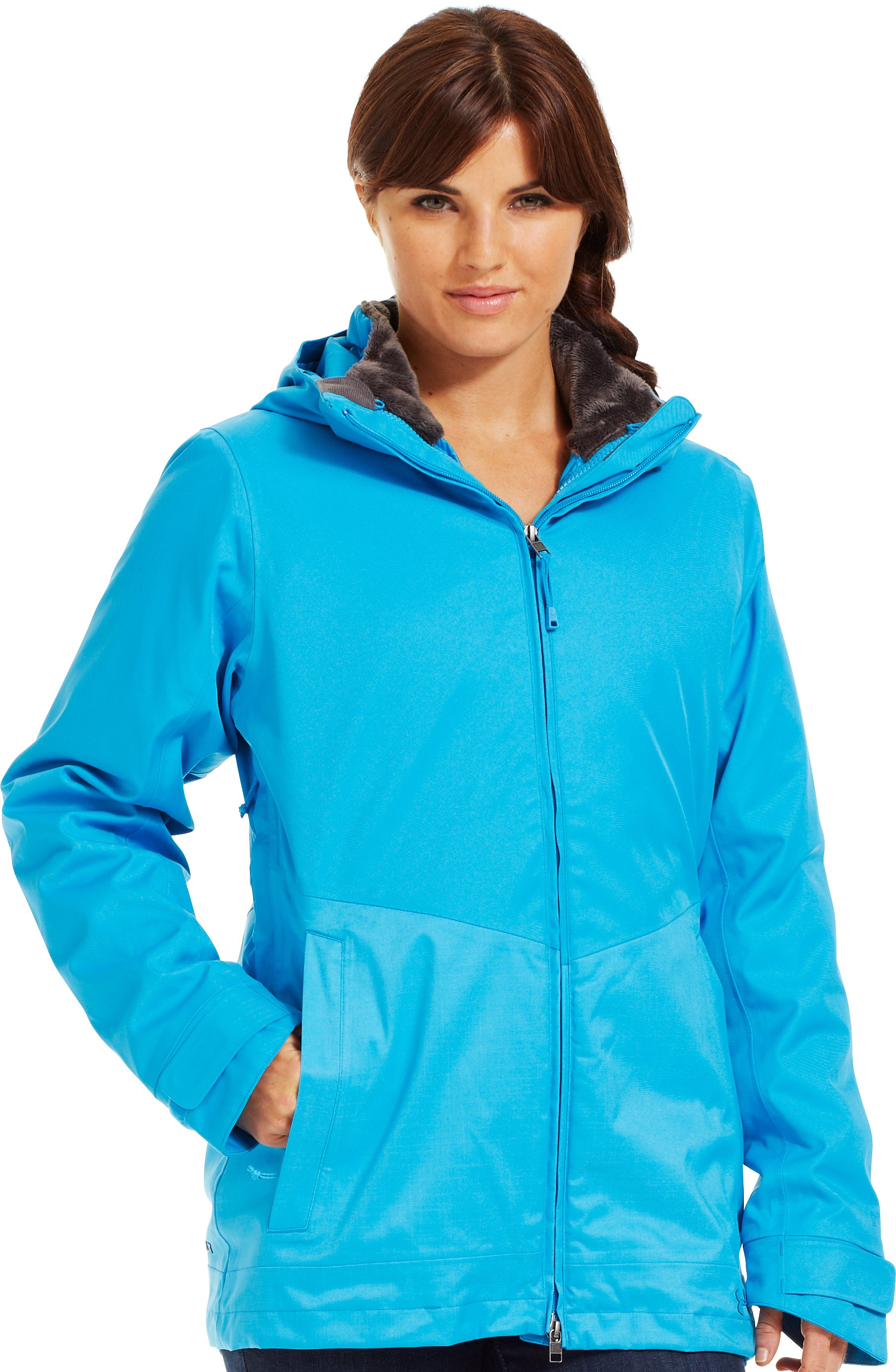 Women's ColdGear® Infrared Cindy 3-In-1 Jacket, Crown Jewel, Front