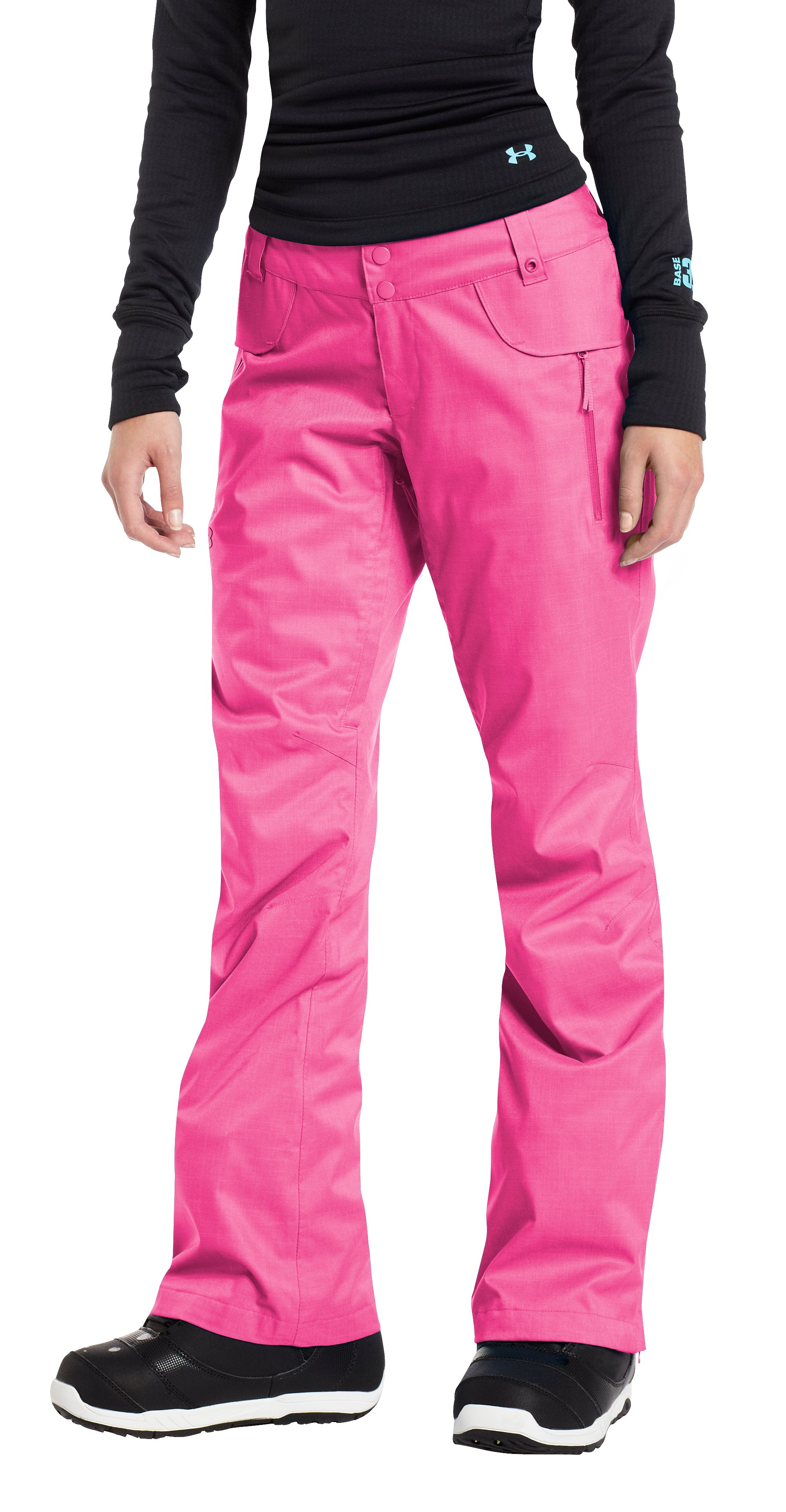 Women's ColdGear® Infrared Wendy Pant, Lollipop, zoomed image