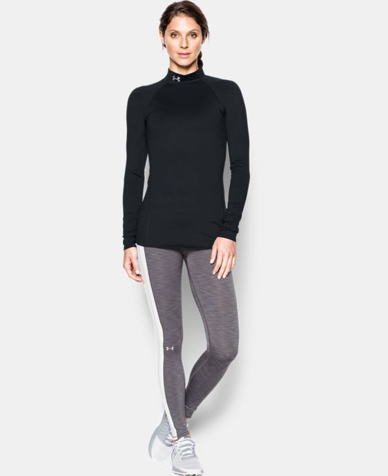 Women's UA ColdGear® Infrared EVO Mock Long Sleeve  1 Color $64.99