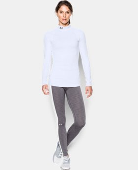 Women's UA ColdGear® Infrared EVO Mock Long Sleeve  2 Colors $48.99