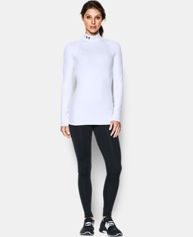 Women's UA ColdGear® Infrared EVO Mock Long Sleeve  2 Colors $54.99