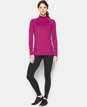 Women's UA ColdGear® Infrared EVO Mock Long Sleeve  1 Color $54.99