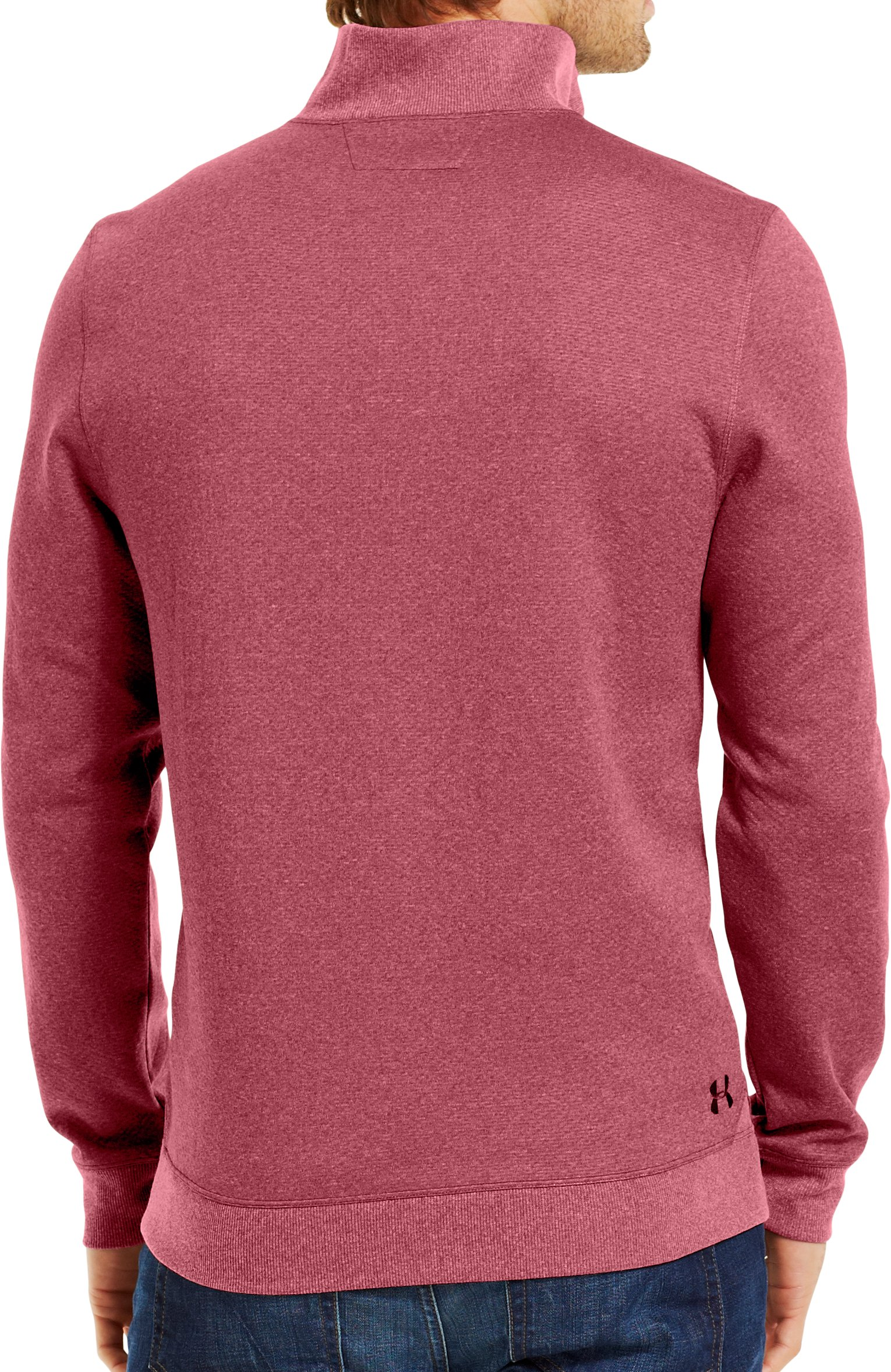 Men's ColdGear® Infrared UA Tech™ Fleece ¼ Zip, CORDOVA, Back