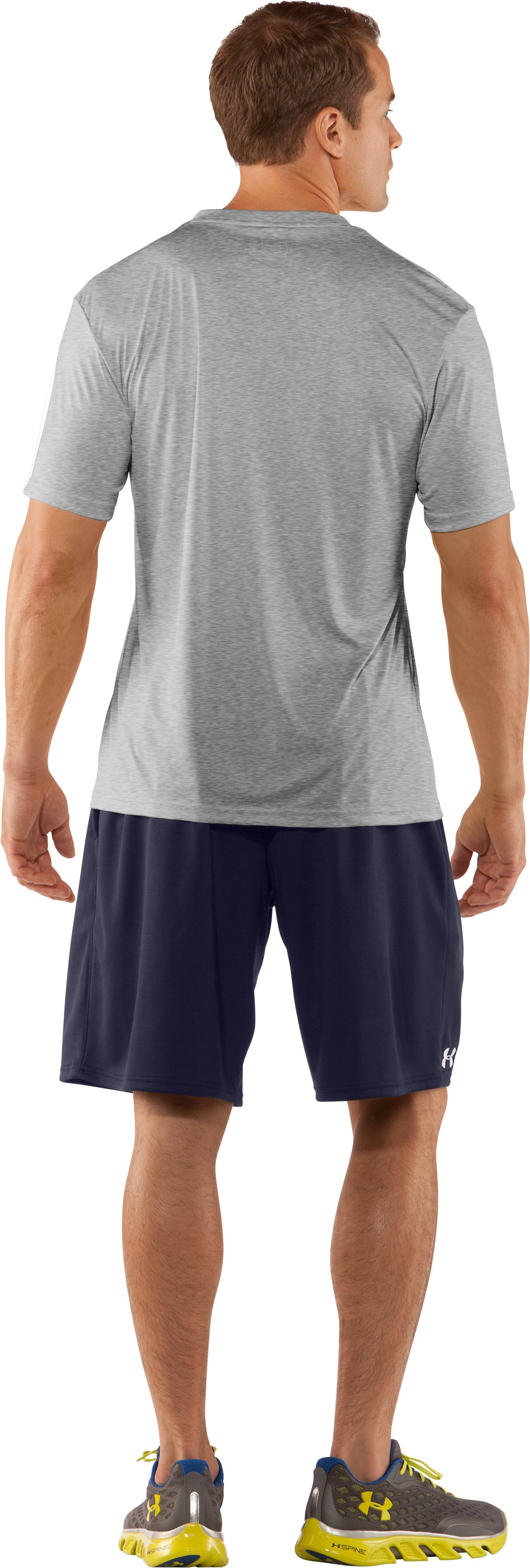 Men's Tottenham Hotspur 1882 T-Shirt, True Gray Heather, Back