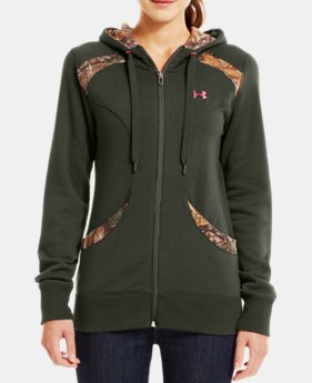 Women's UA Charged Cotton® Storm Full Zip Hoodie