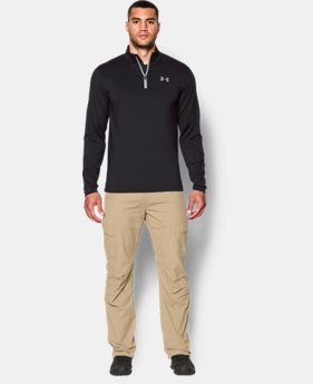 New Arrival  Men's UA ColdGear® Armour ¼ Zip   $74.99