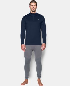 Men's UA ColdGear® Armour ¼ Zip LIMITED TIME: FREE U.S. SHIPPING 1 Color $36.74