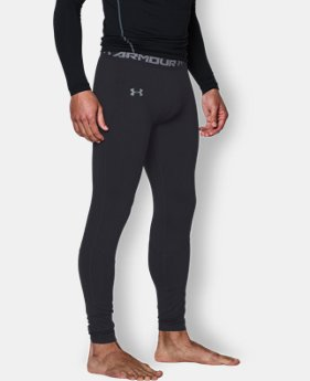 Men's UA ColdGear® Infrared Fitted Leggings  3 Colors $54.99