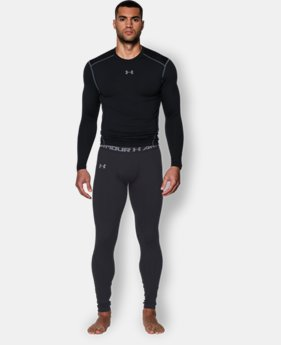 New Arrival  Men's UA ColdGear® Infrared Fitted Leggings  1 Color $64.99