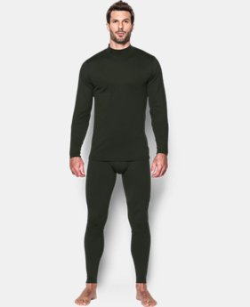 New Arrival  Men's UA ColdGear® Infrared Fitted Leggings LIMITED TIME: FREE SHIPPING 2 Colors $64.99