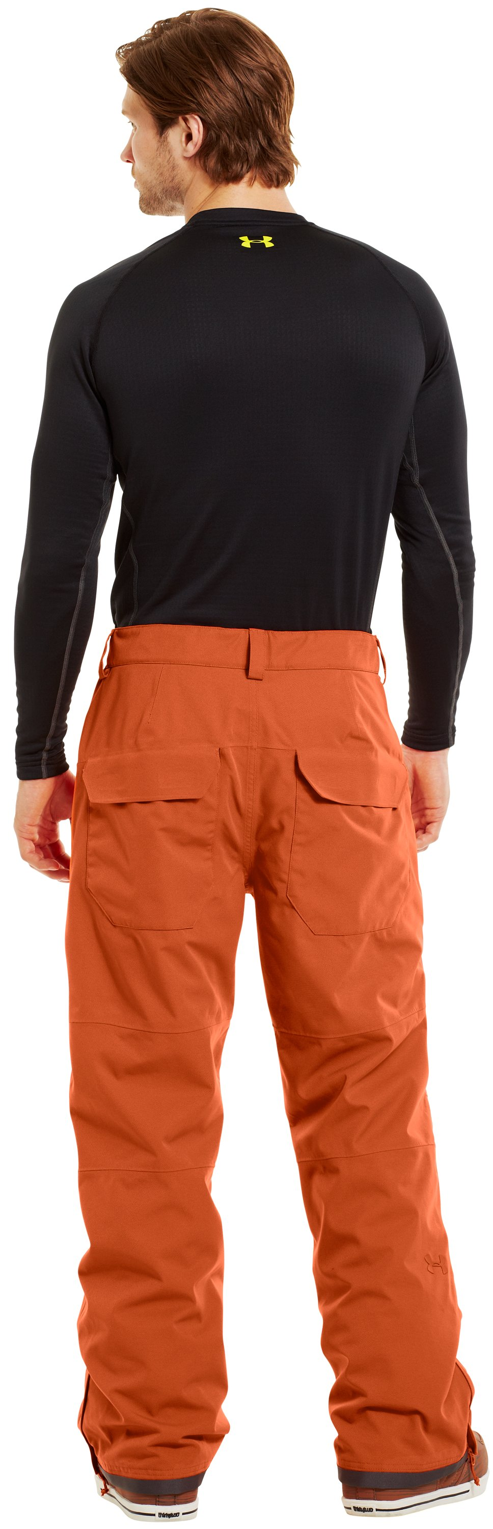 Men's ColdGear® Infrared Hatcher Pants, FLUX, Back