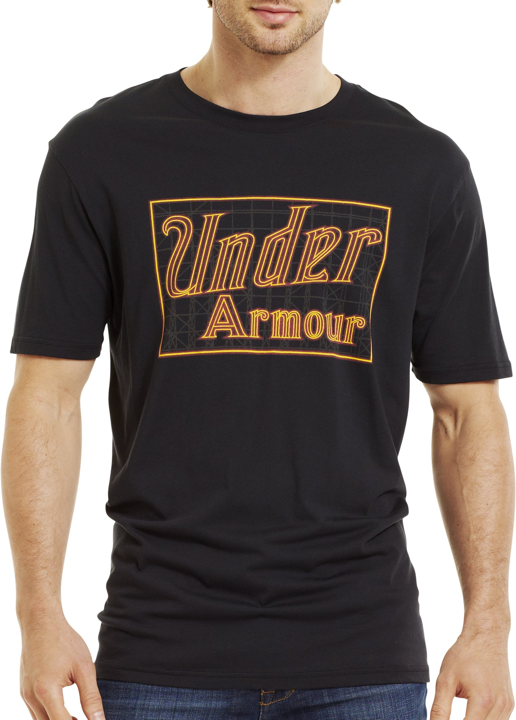 Men's UA Sugar T-Shirt, Black , Front