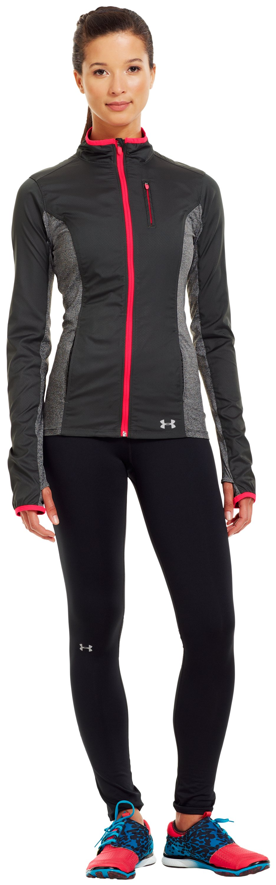 Women's ColdGear® Storm Impassable Jacket, Lead, zoomed image