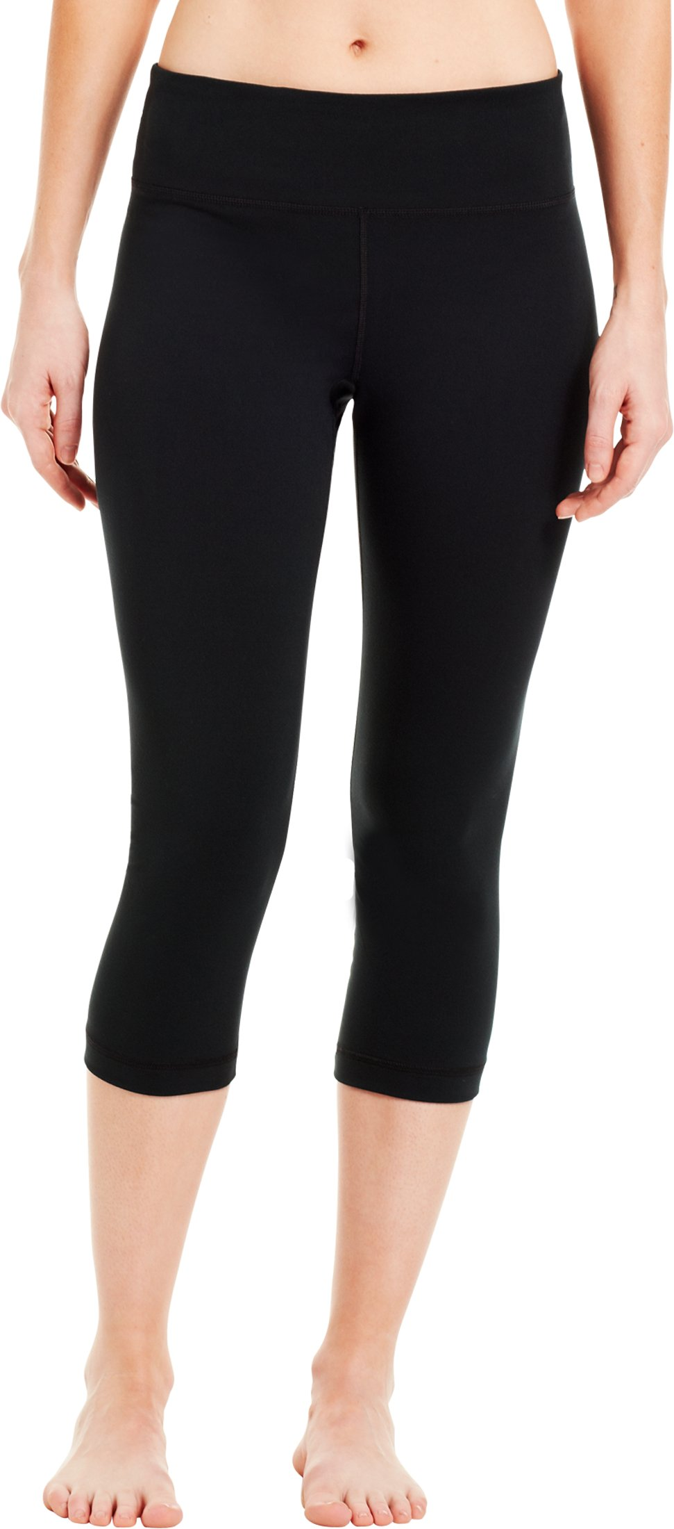 Women's UA Perfect Tight Capri, Black , zoomed image