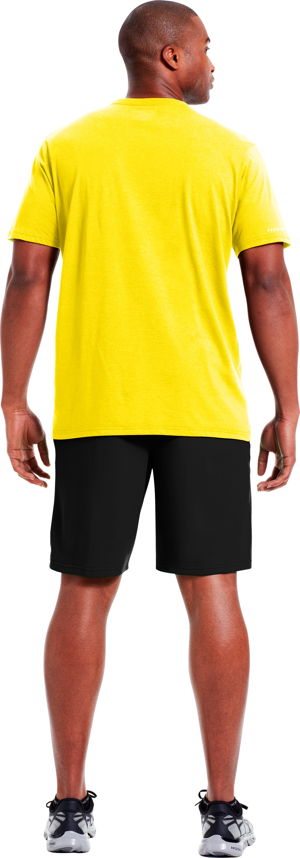 Men's UA Outside T-Shirt, Solar, Back