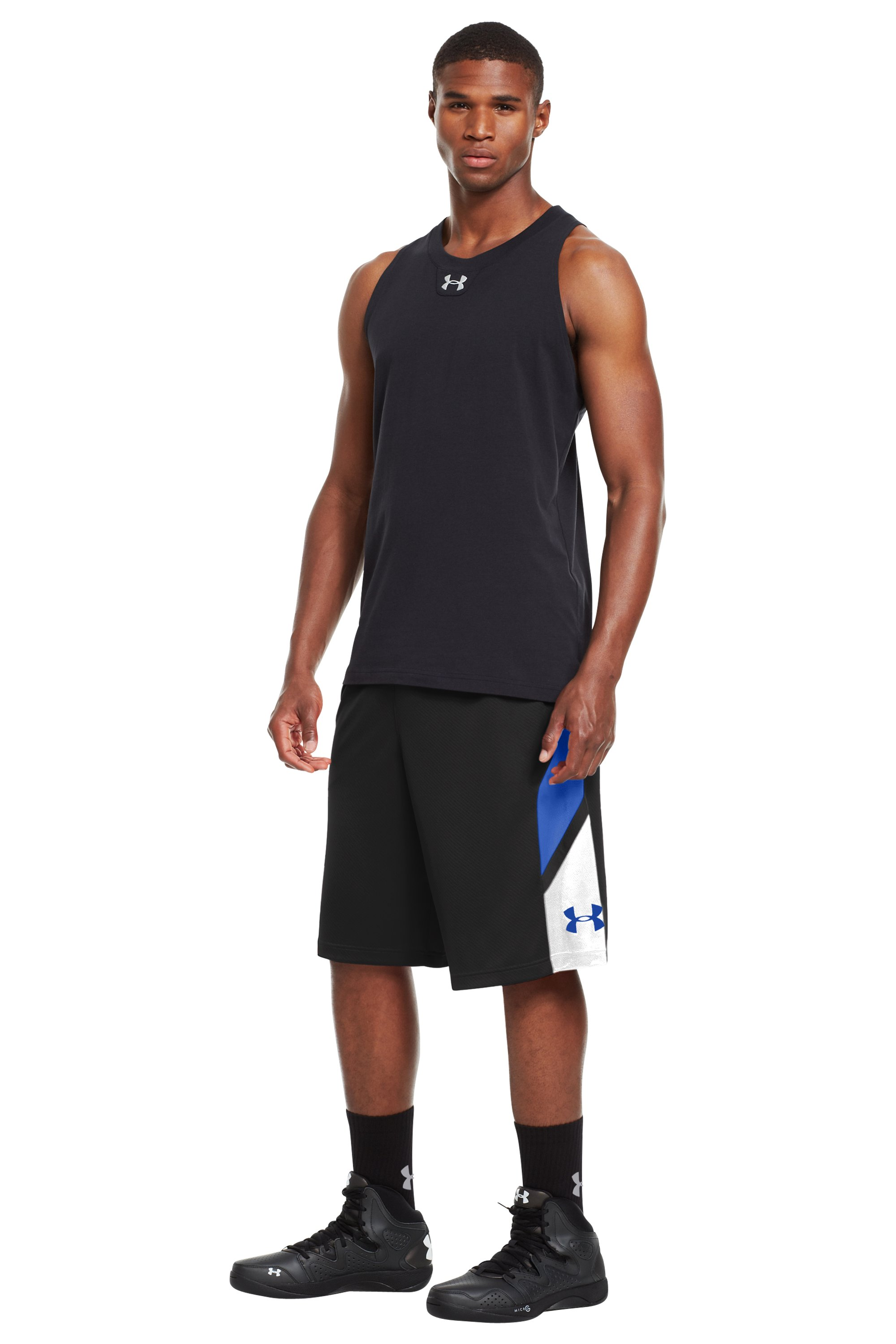 "Men's UA Ucantdenyit 12"" Shorts, Black , zoomed image"