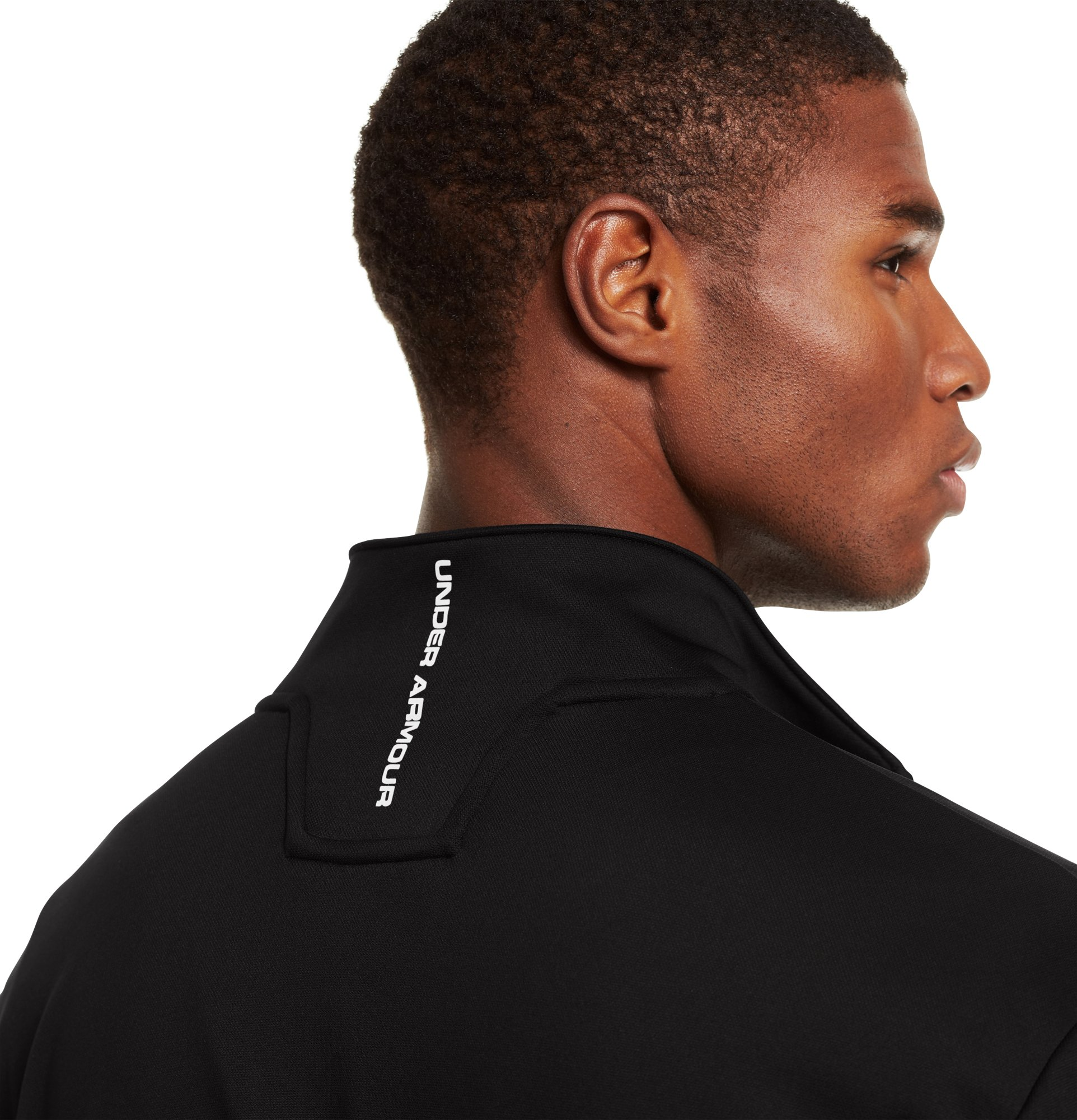 Men's UA Hustleaftait Jacket, Black