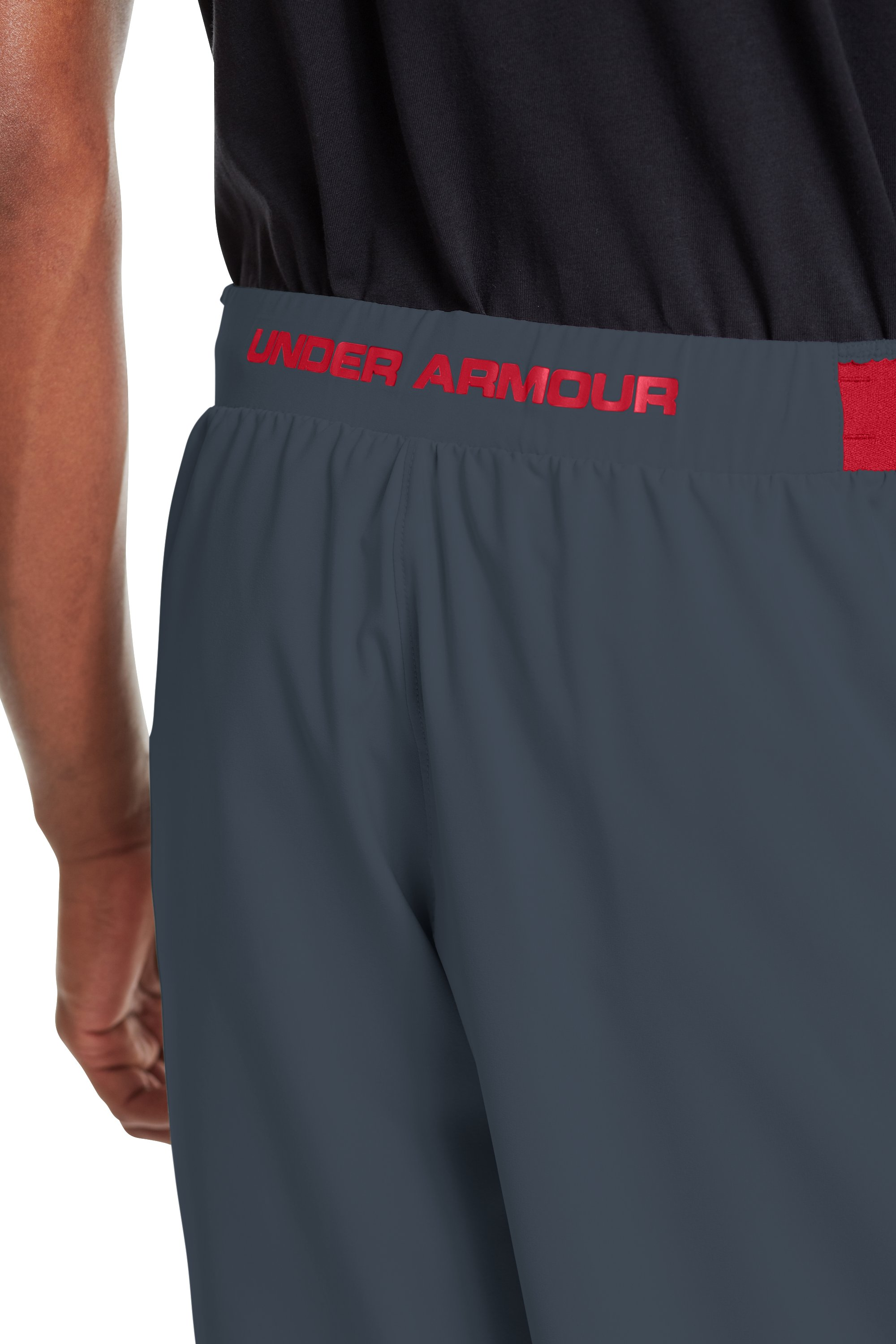 "Men's UA Comengetit 12"" Shorts, Charcoal"