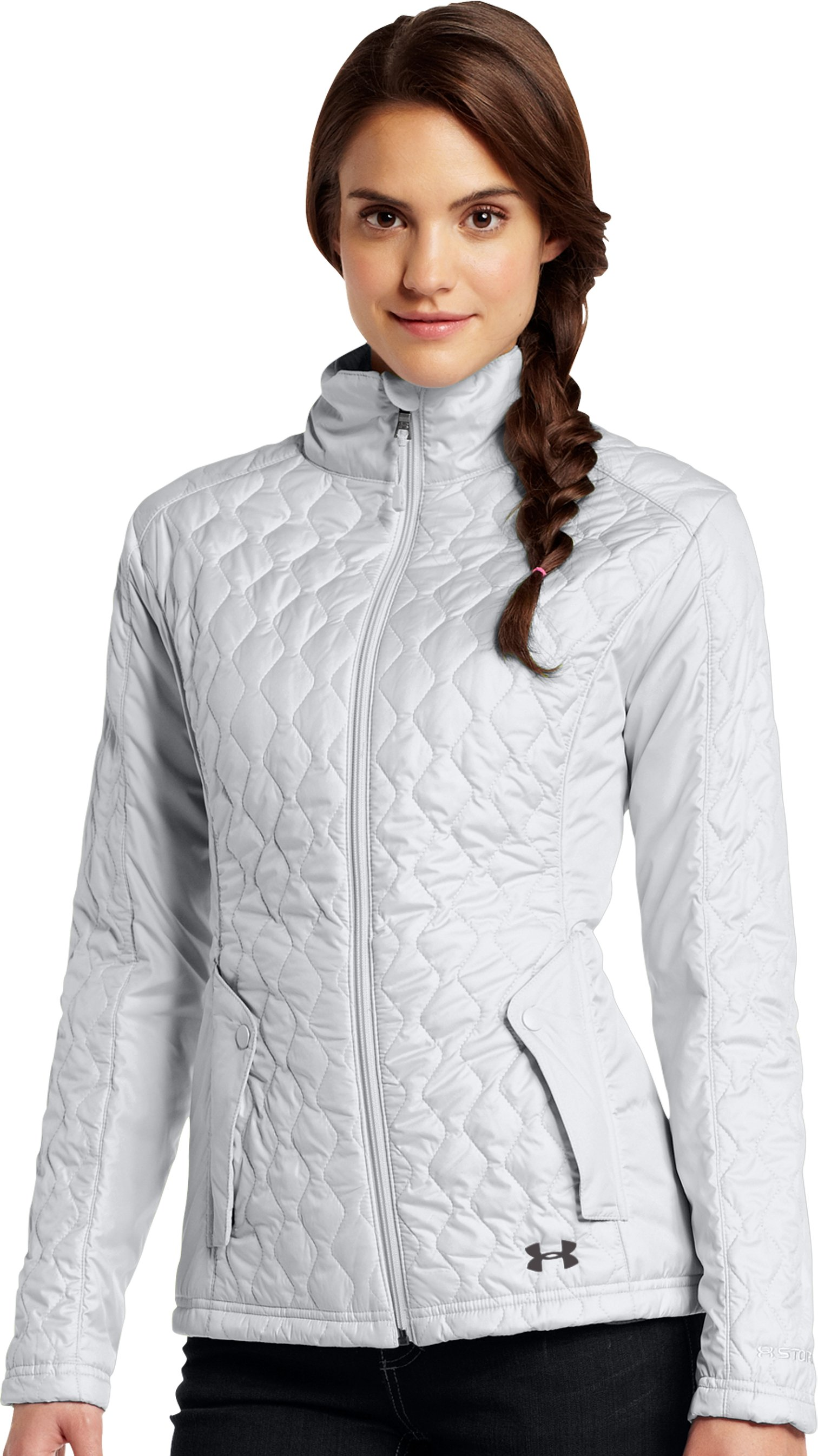 Women's ColdGear® Infrared Alpinlite Jacket, Elemental, Front