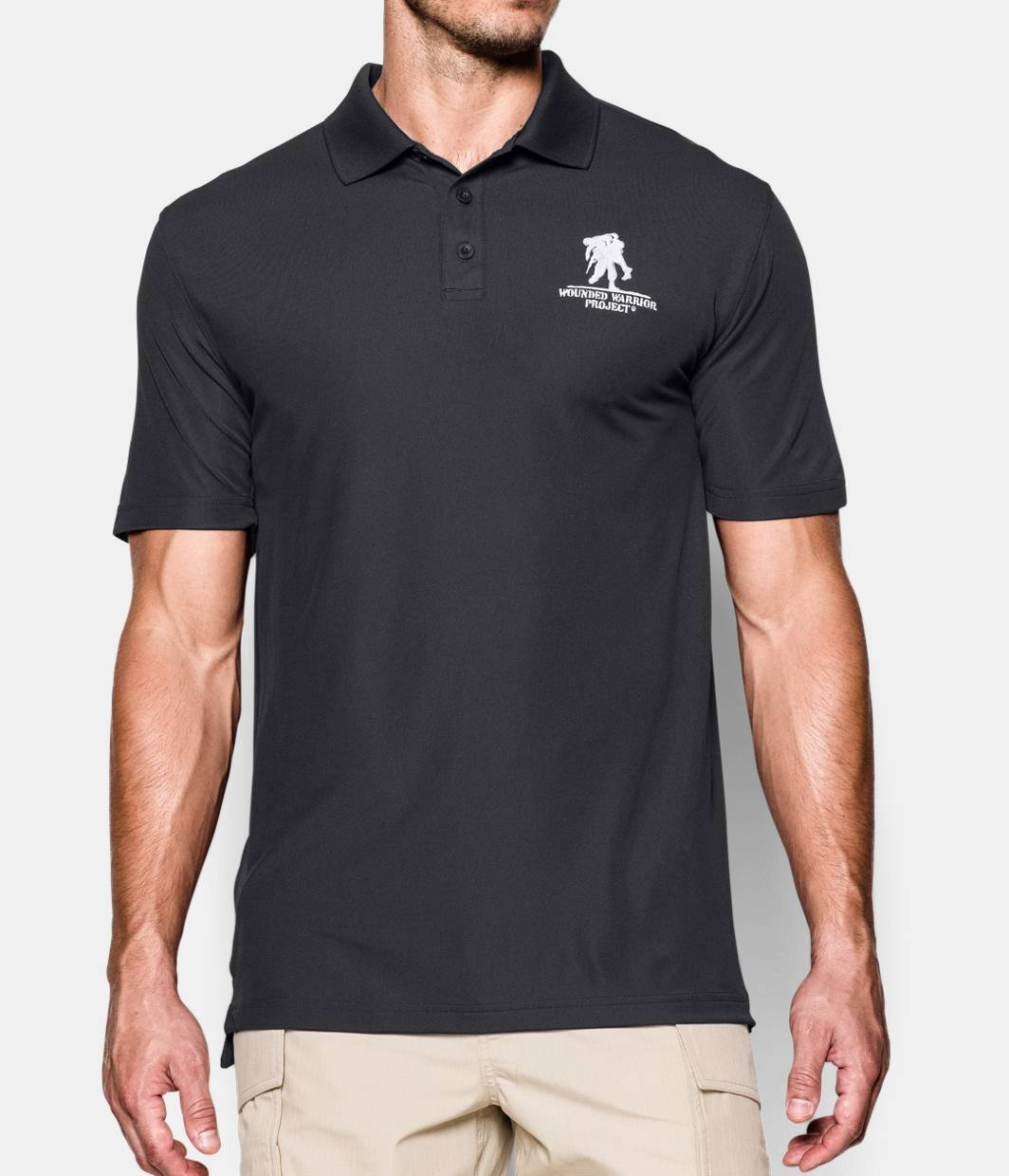 men s ua wwp performance polo under armour us. Black Bedroom Furniture Sets. Home Design Ideas