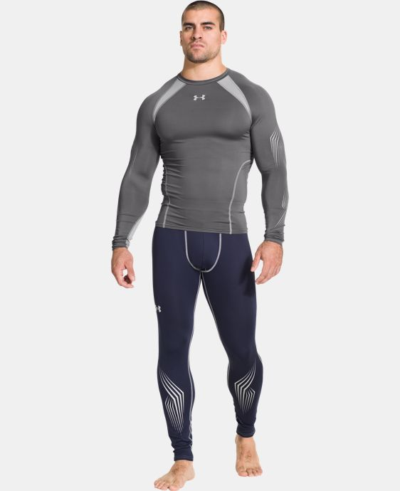 Men's UA Hockey Grippy Compression Top  1 Color $41.99