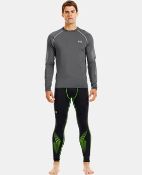 Men's UA Hockey Grippy Fitted Top LIMITED TIME: FREE U.S. SHIPPING 1 Color $33.74 to $44.99