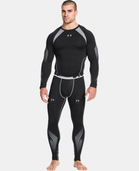 Men's UA Hockey Grippy Compression Leggings  1 Color $48.99