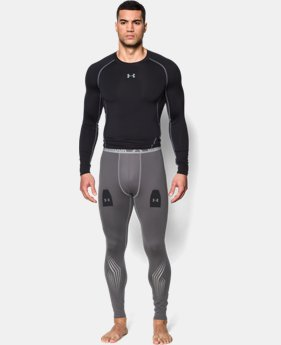 Men's UA Hockey Grippy Compression Leggings