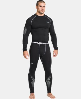 Men's UA Hockey Grippy Fitted Leggings  1 Color $31.49